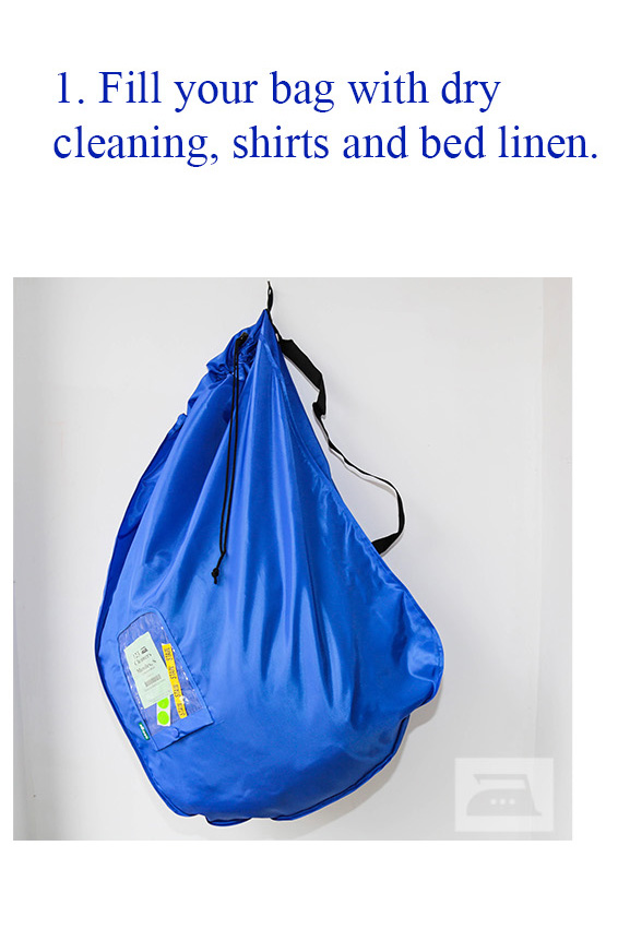 2 In 1 Laundry Bags London 123 Cleaners
